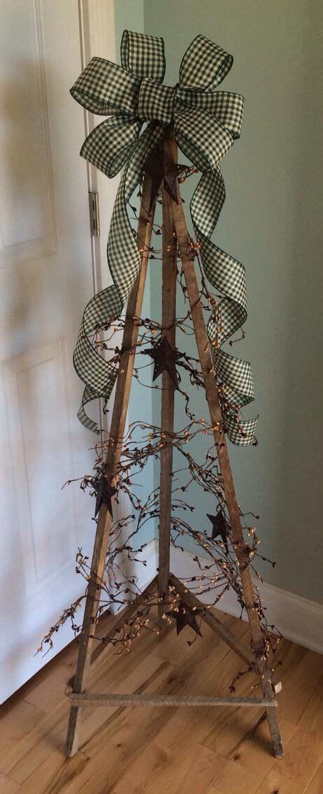 tripod tree primitive crafts pinterest tripod