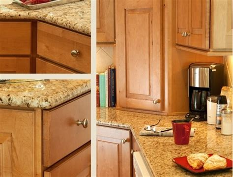 color of maple cabinets and granite kitchen