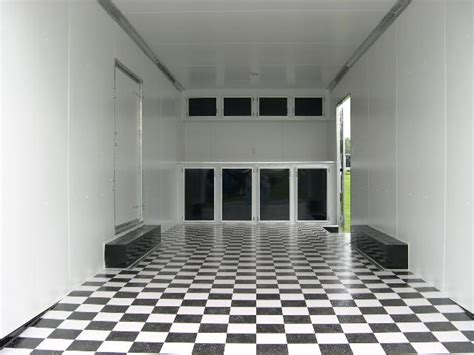 checkered trailer flooring  pro trailer superstore