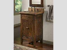 Rustic Bathroom Vanity Small — Derektime Design Nice