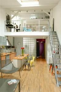 Studio Mezzanine Paris : 17 best ideas about mezzanine bedroom on pinterest ~ Zukunftsfamilie.com Idées de Décoration
