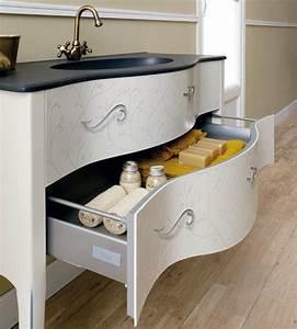 le meuble sous lavabo 60 idees creatives archzinefr With meuble sous lavabo avec colonne salle de bain