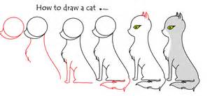how to draw cats how to draw a cat dr