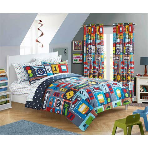 15646 cars bedroom set 58 transportation bedding bacati transportation 4pc