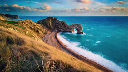 Durdle Door England Wallpapers Coast Dorset Jurassic