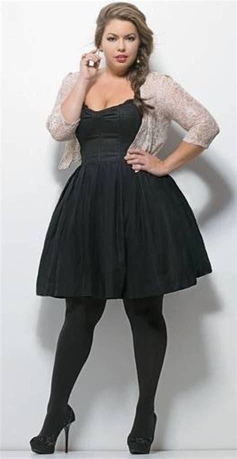 Elegant Plus Size Little Black Dresses   FashionateDesires.Com ...   Full Figured Fashion ...