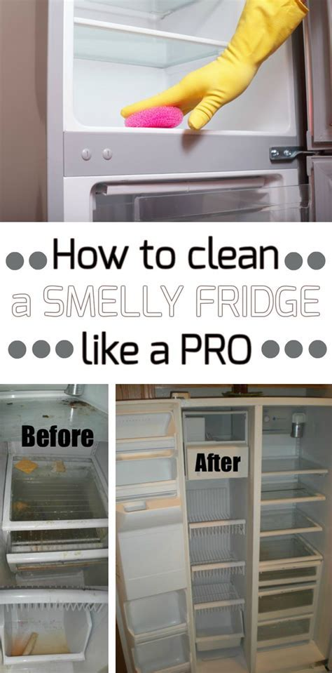 How to clean a smelly fridge like a pro   Cleaning Ideas.com