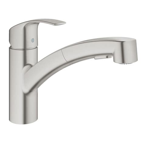 Kitchen Faucet Grohe by Grohe Eurosmart Single Handle Pull Out Sprayer Kitchen