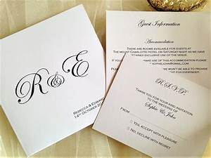 pocketfold wedding invitations bride and groom initials With wedding invitation printing places