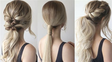 Cool Easy Ponytail Hairstyles by How To Easy Ponytails Prom Hairstyles 2019