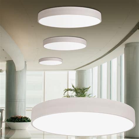 Plafonnier LED design rond diamu00e8tre 600 800 ou 1000 mm