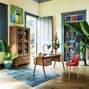 Bureau Maison Du Monde : bureau vintage en manguier janeiro bureau maisons du monde ~ Teatrodelosmanantiales.com Idées de Décoration