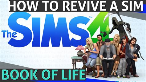 The Sims 4  How To Revive A Sim (book Of Life) Youtube