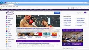 Как сделать Yahoo! вашей домашней страницей в Internet ...