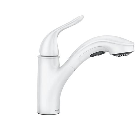 moen  brecklyn single handle pull  sprayer
