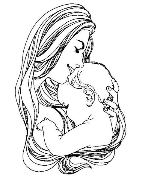 Image detail for -Back to Coloring pages mother day
