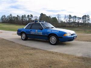 1992 Ford Mustang SSP Georgia State Patrol for sale: photos, technical specifications, description