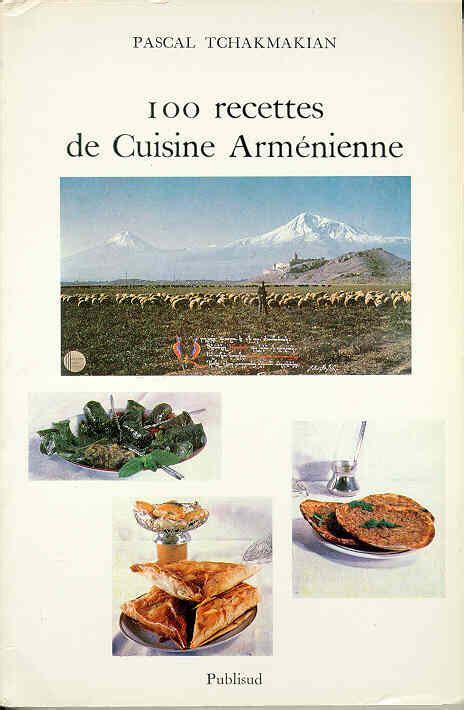 cuisine armenienne acam livres arméniens tchakmakian pascal