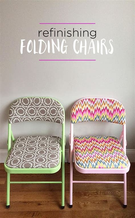 25 best ideas about folding chair makeover on