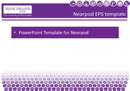 Of Manchester Powerpoint Template by Nearpod For Interactive Lectures