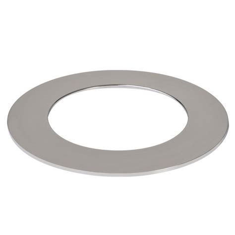 halo light trim rings halo 4 in polished chrome recessed lighting led designer