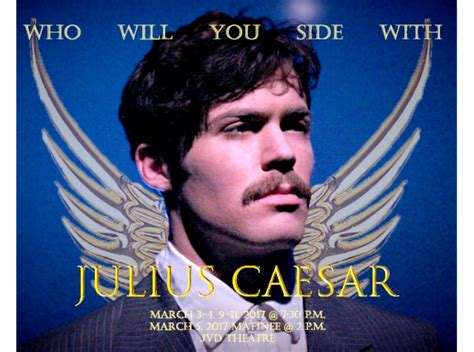 Hsu's Ambitious Julius Caesar Delivers A Power-mad