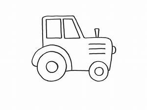 Dibujo colorear tractor Dibujo de Imagenes para imprimir