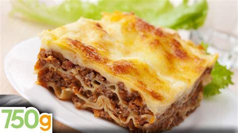 hervé cuisine hamburger recettes de lasagne bolognaise maison lasagna