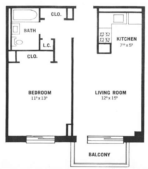 one bedroom floor plan one bedroom apartment floor plan one bedroom apartment