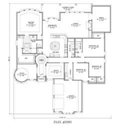Single Story 4 Bedroom House Plans 4 Bedroom House Plans One Story Studio Design Gallery Best Design