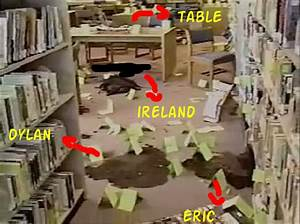 Columbine Shooting Pictures afterwards in Library minus ...