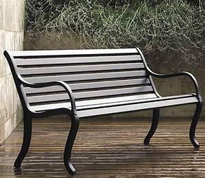 Gartenbank Metall 2 Sitzer : fast design 2 sitze bank oasi gartenbank alu grau met art jardin ~ Indierocktalk.com Haus und Dekorationen