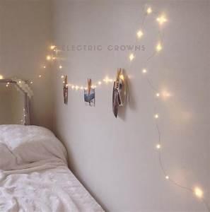 Lichterkette Im Zimmer : nachtlicht lichterkette schlafzimmer inneneinrichtungen etsy ~ Markanthonyermac.com Haus und Dekorationen
