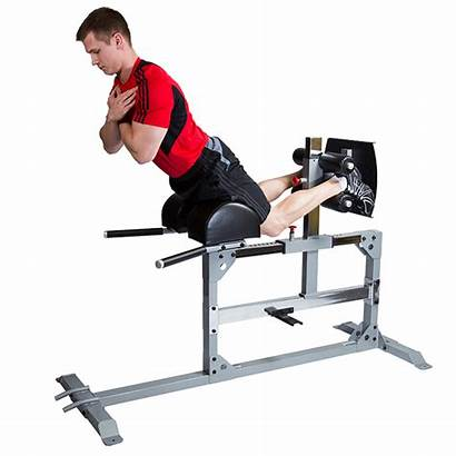Bench Hyperextension Glute Hamstring Bodysolid Equipment Fitness