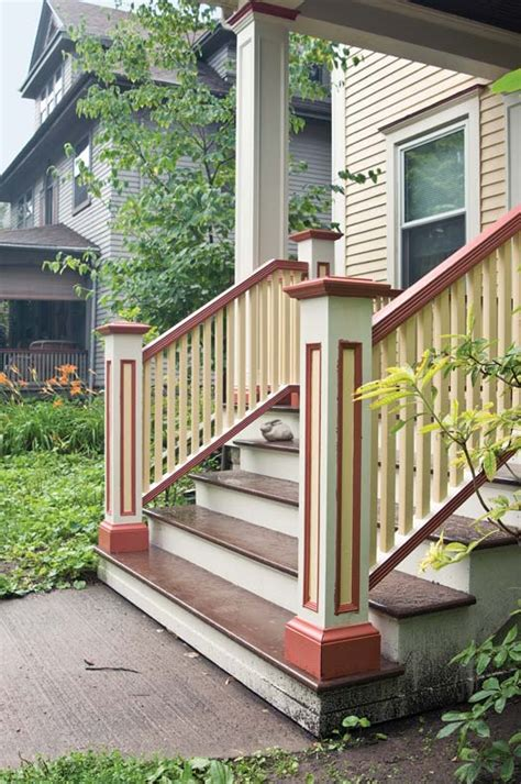 how to rebuild porch stairs house house