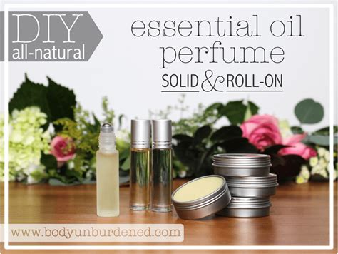 Diy All Natural Essential Oil Perfume Solid And Roll On