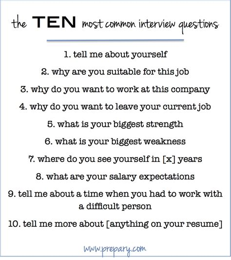 How To Answer Tough Resume Questions by How To Answer The Most Common Questions The Prepary