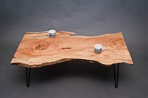 calvin maple coffee table reclaimed live With maple live edge coffee table