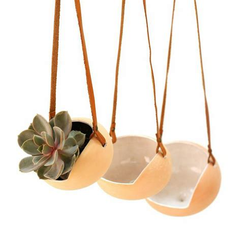 la cuisine collective hanging ceramic pots inspired by jicama plant