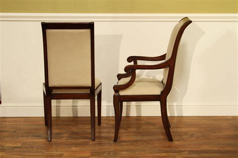 Dining Room Chairs by Transitional Upholstered Mahogany Dining Room Chairs