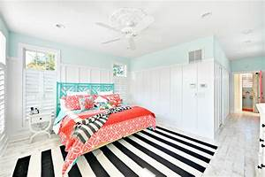 Astonishing Color Coral Blue Decorating Ideas For Bedroom