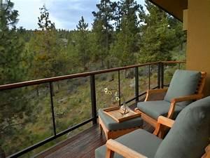 Balkon Sichtschutz Holz : glas holz metall gel nder balkon sch ne aussicht wald ~ Watch28wear.com Haus und Dekorationen