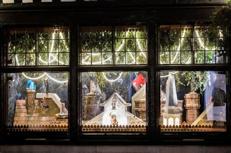 london liberty london christmas windows