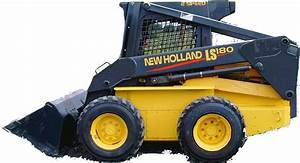New Holland Ls180 B  S185 B  S190 B Skid Steer Loader