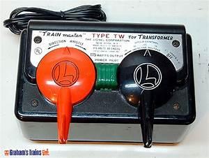 Lionel Tw 175 Watt Trainmaster Transformer