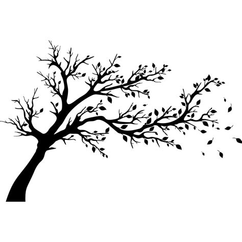 carre cuisine stickers arbre pas cher