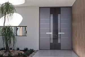 Sicherheitsschlösser Für Haustüren : haust r grau und hellgrau haust ren aluminium lichtgrau r ihr haus ~ Watch28wear.com Haus und Dekorationen