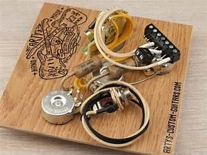 Solderless Prewired Harness Stratocaster 2x Cap