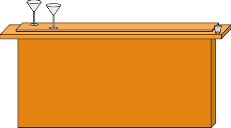 Bar Clipart Clipart Wooden Bar