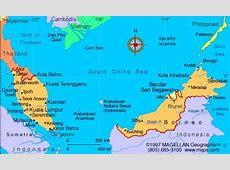 Map of Malaysia Malaysia is on the Malay Peninsula in
